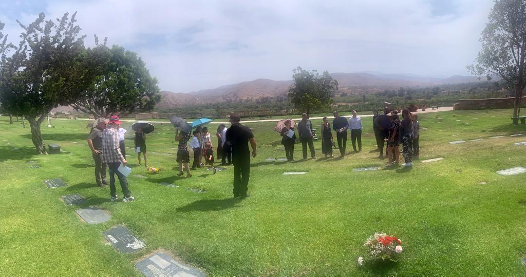 Cemetery Panorama